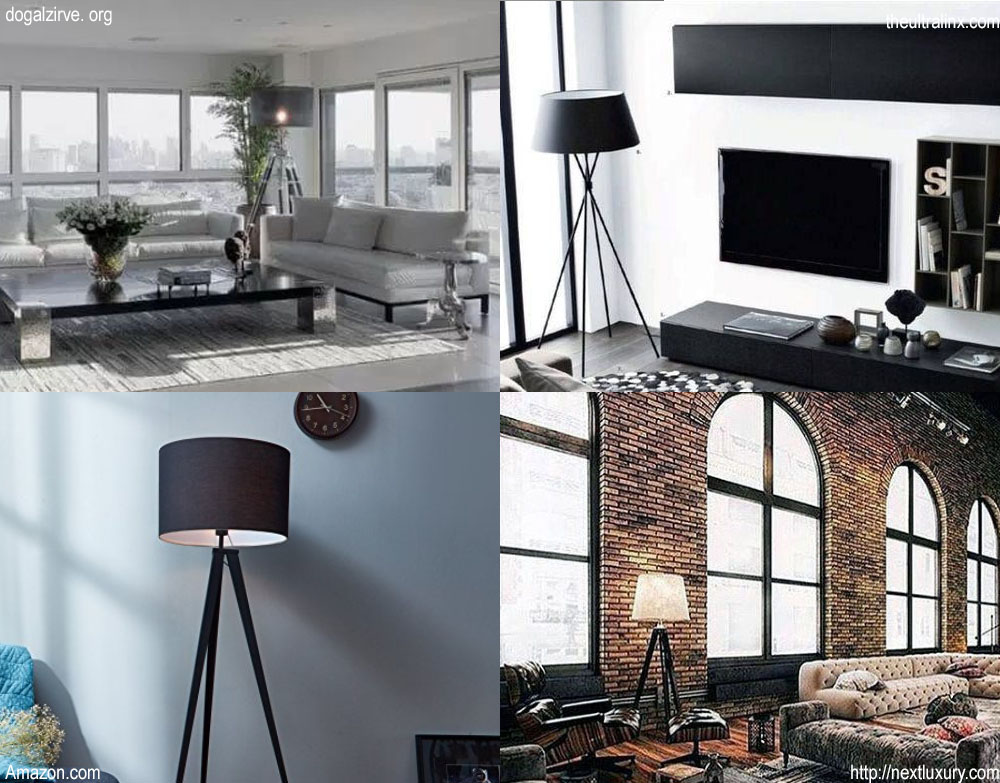 Floor Lamp. Okay, That Top Left One Actually Looks Like A Sentinel. These  Are Just Some Of The Results When Looking Up Cool Man Spaces. So There It  Is, ...