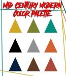 Mid-century Modern Palette
