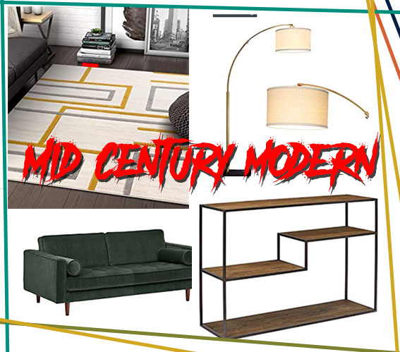 Mid Century Modern by Furnish Him