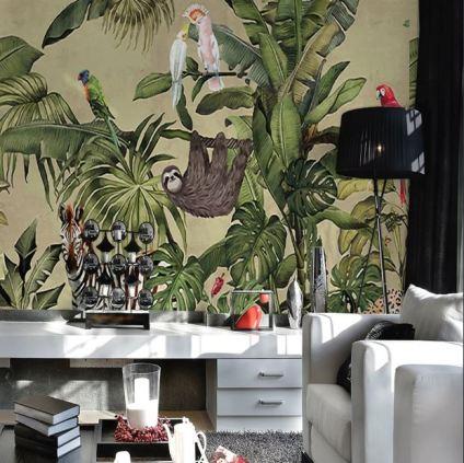 wall paper bird maxim
