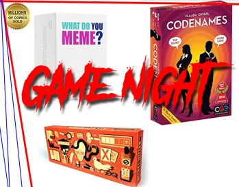 game night header