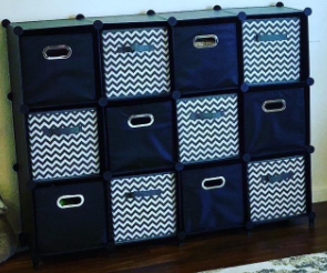 Homeries Modular Cube Storage System with baskets